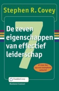Stephen Covey, 7 habits of highly effective people, de 7 eigenschappen van effectief leiderschap