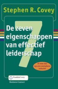 Stephen Covey, 7 habits of highly effective people, de 7 eigenschappen van effectief leiderschap