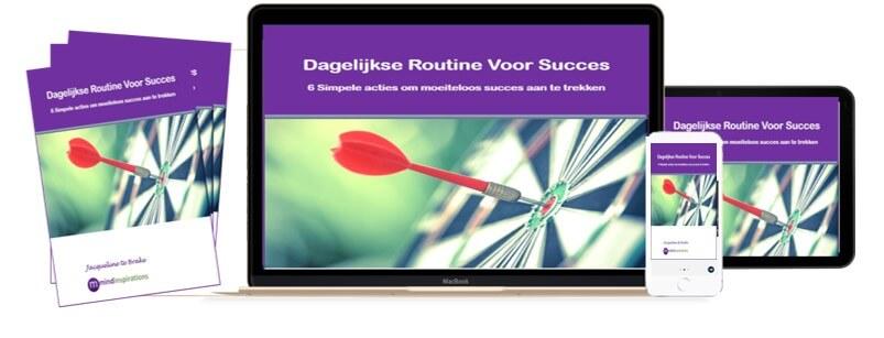dagelijkse routine voor succes